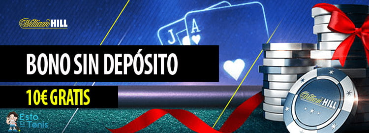 BONO SIN DEPÓSITO WILLIAM HILL