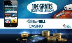 BONOS SIN DEPÓSITO DE CASINO WILLIAM HILL