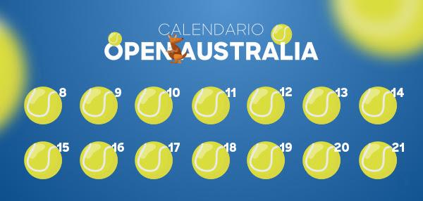 Calendario Open de Australia
